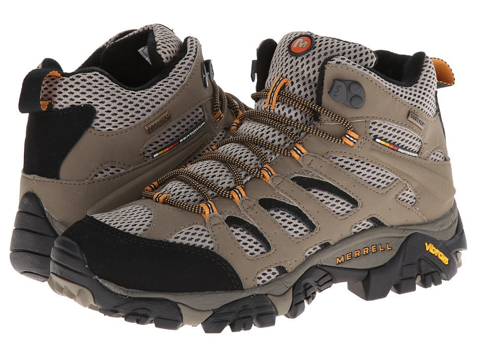 Merrell - Moab Mid GORE-TEX XCR (Dark Tan) Men's Hiking Boots