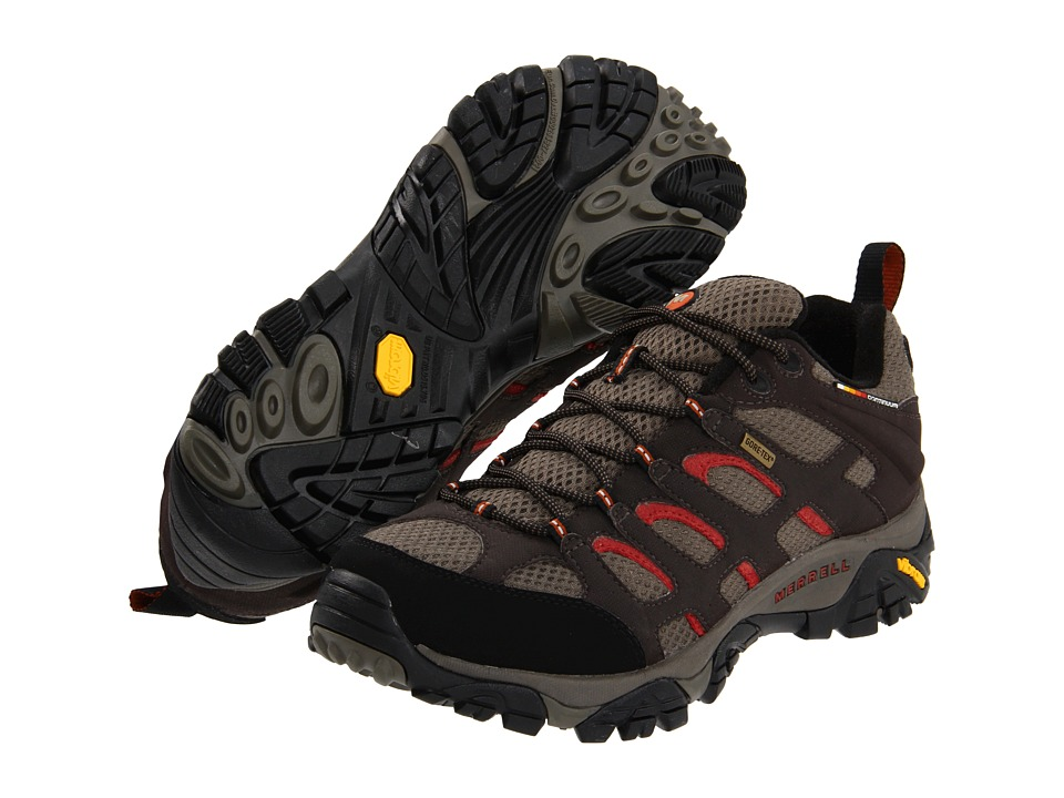 Merrell - Moab GORE-TEX XCR (Dark Chocolate) Men's Lace up casual Shoes