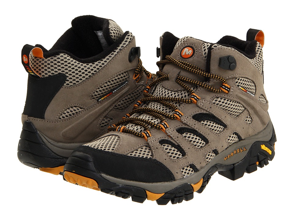 Merrell - Moab Ventilator Mid (Walnut) Men's Hiking Boots