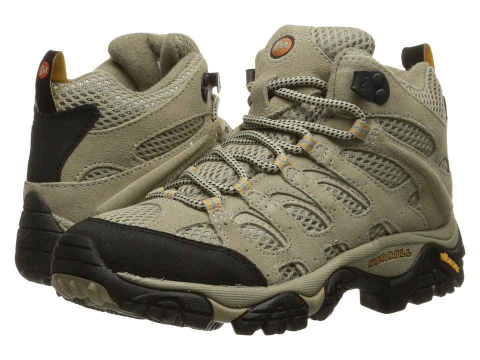 Merrell - Moab Ventilator Mid (Taupe) Women's Hiking Boots