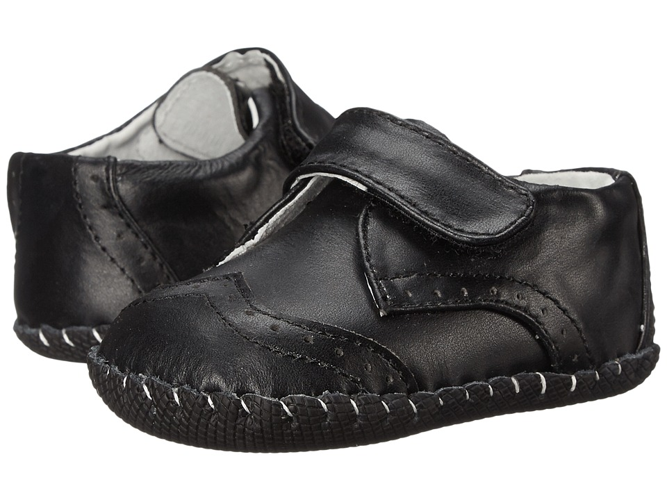 pediped - Ashton (Infant/Toddler) (Black) Boys Shoes