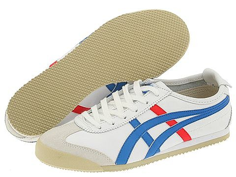 Onitsuka Tiger by Asics - Mexico 66 (White/Blue) Shoes