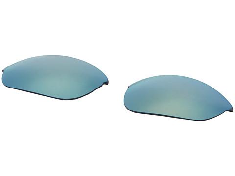 Oakley Half Jacket - Replacement Lenses (Emerald Iridium) Sport Sunglasses