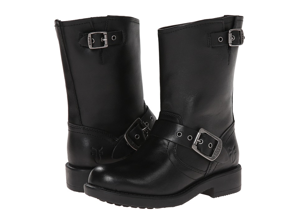 Frye Kids - Engineer Pull On (Toddler/Little Kid/Big Kid) (Black) Kids Shoes