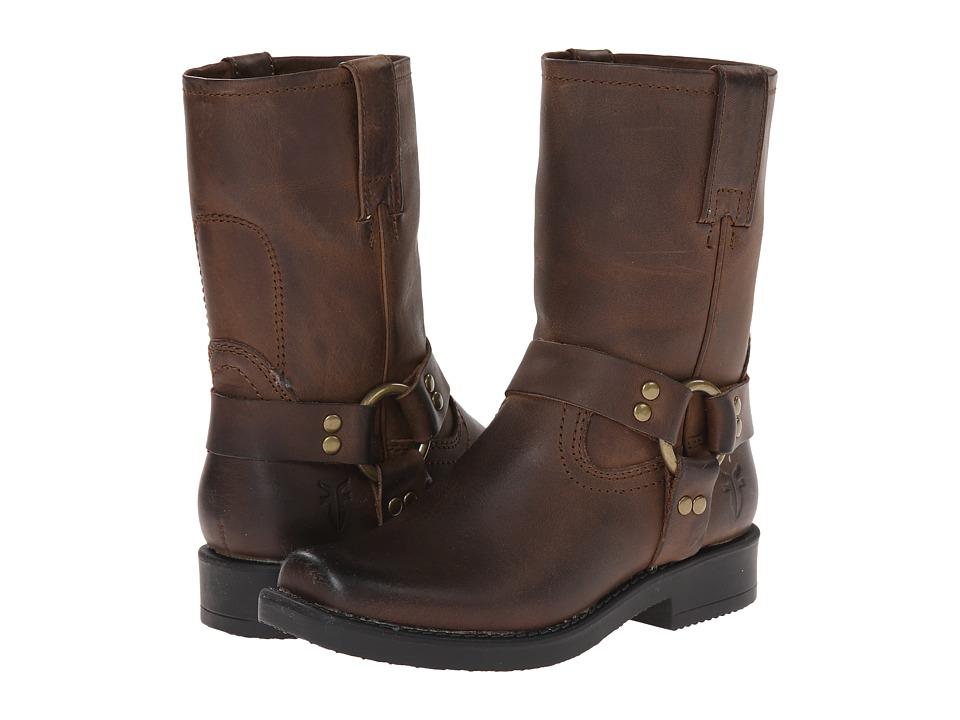 Frye Kids Harness Pull On (Toddler/Little Kid/Big Kid) (Tan) Cowboy Boots