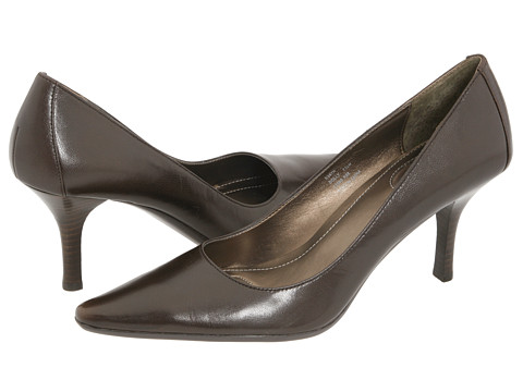 Calvin Klein - Dolly (Brown Leather) High Heels
