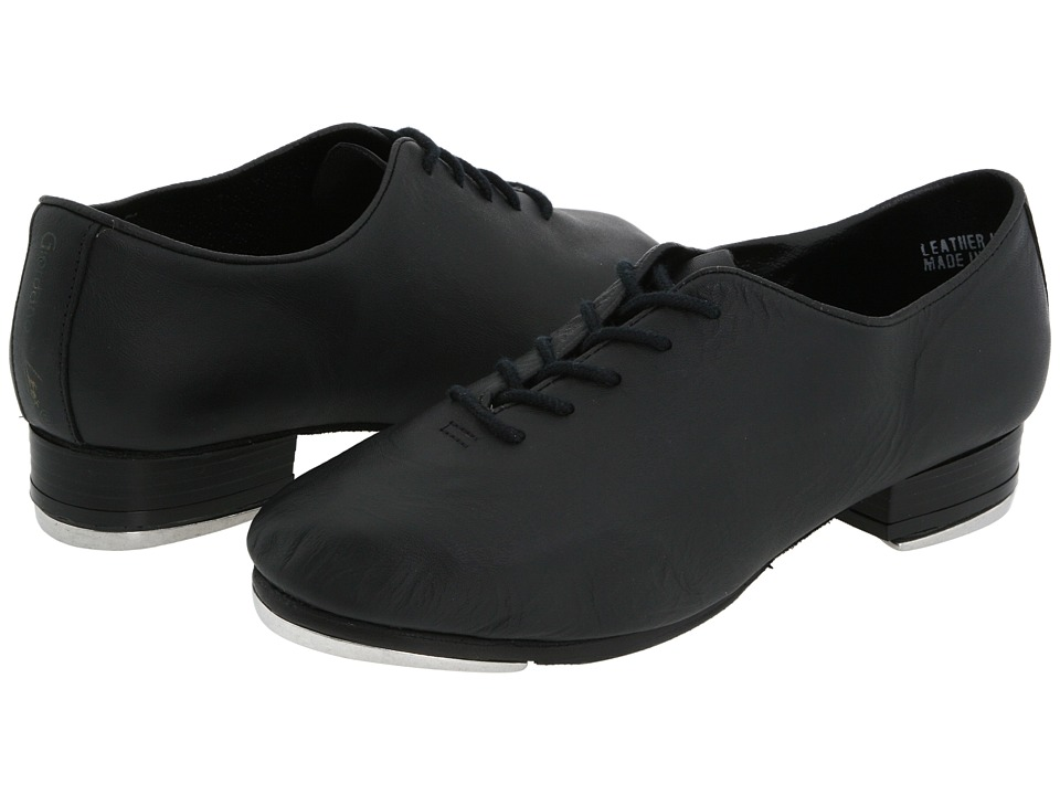 Leo's - Giordano Jazz Tap (Black) Dance Shoes