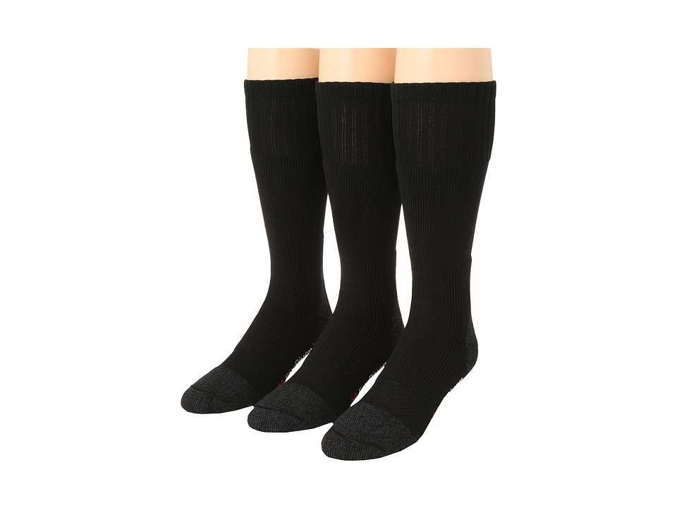 Fox River - Wick Dry Maximum Boot Sock 3-Pair Pack (Black) Crew Cut Socks Shoes