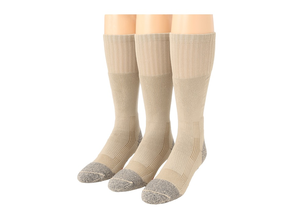 Fox River - Wick Dry Maximum Boot Sock 3-Pair Pack (Sand) Crew Cut Socks Shoes