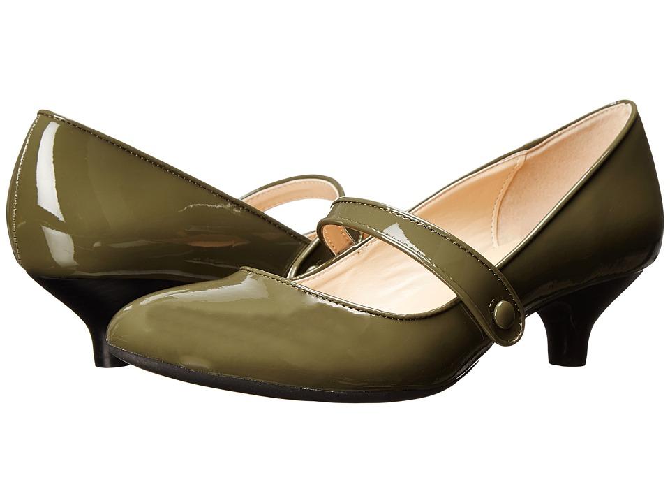 Gabriella Rocha - Ginger (Grey Patent) Women's Maryjane Shoes