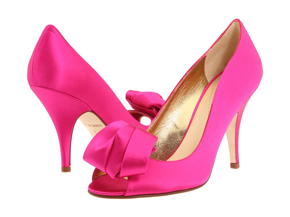 Kate Spade New York Clarice (Hot Pink Satin) Women