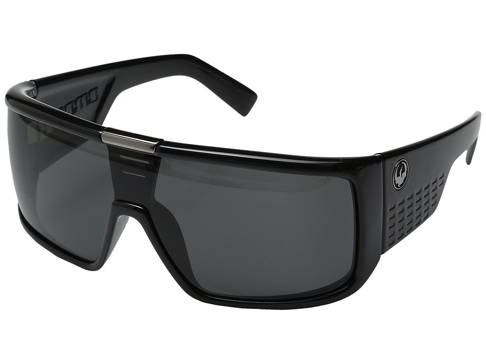 Dragon Alliance - Domo (Jet/Grey Lens) Sport Sunglasses