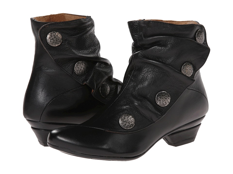 Eric Michael - Soho (Black Leather) Women