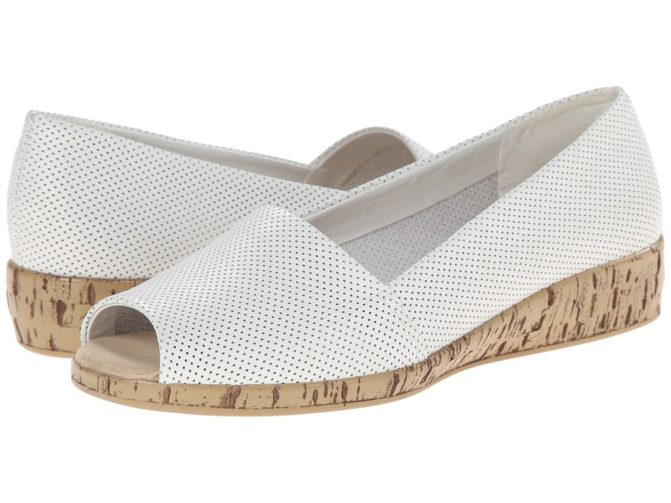 A2 by Aerosoles - Sprig Break (White Leather) Women's Shoes