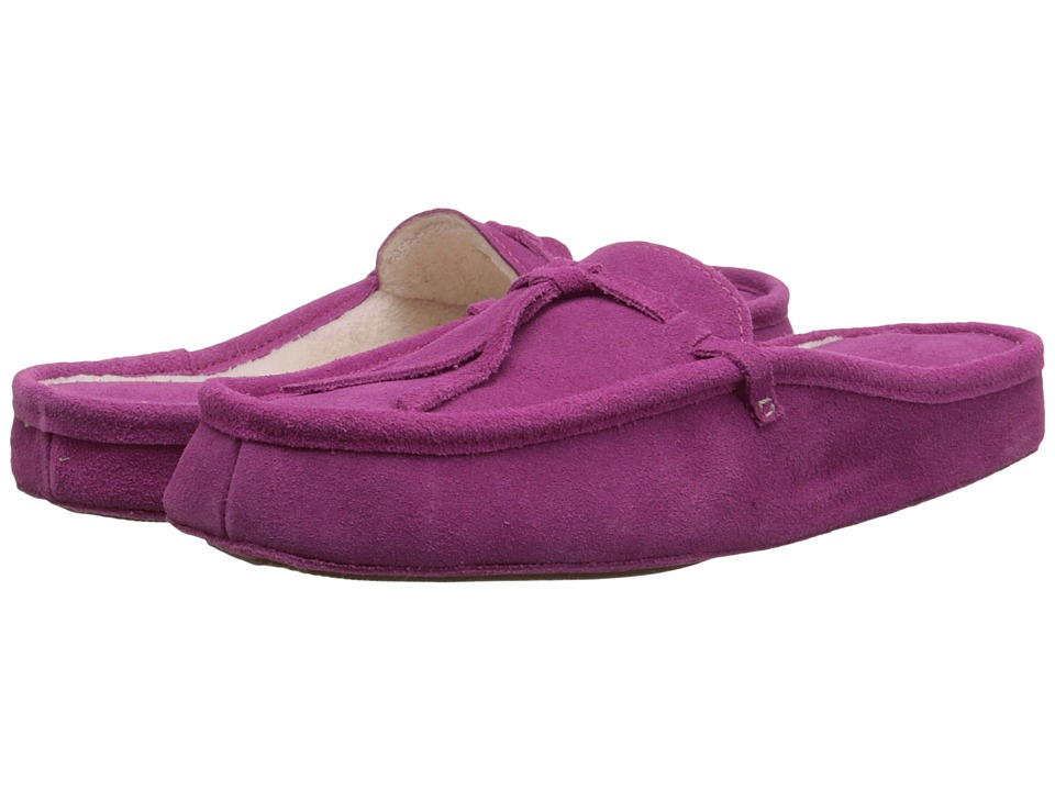 Patricia Green - Greenwich (Raspberry Suede) Women's Slippers