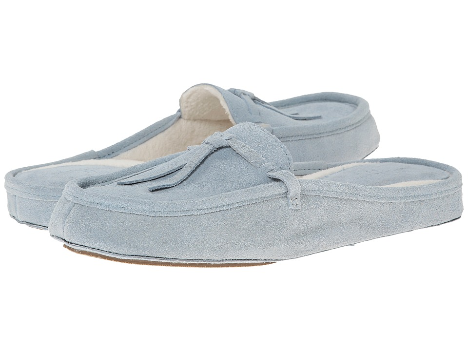 Patricia Green - Greenwich (Light Blue Suede) Women's Slippers