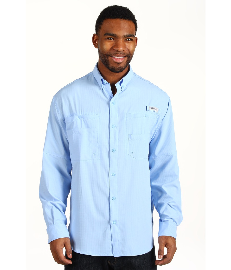 Columbia - Tamiami II L/S (Sail) Men's Long Sleeve Button Up