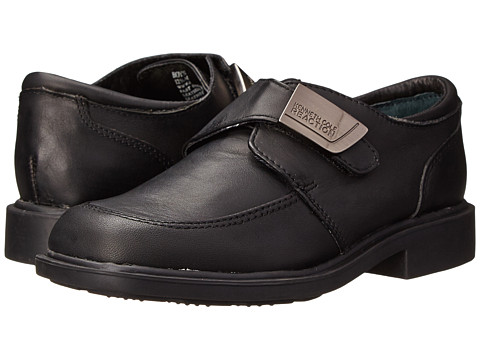 Kenneth Cole Reaction Kids - Fast Cash (Little Kid/Big Kid) (Black Leather) Boys Shoes