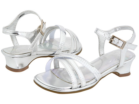 Kenneth Cole Reaction Kids - Dan-cin Shoes 2 (Toddler) (Silver Metallic) Girls Shoes