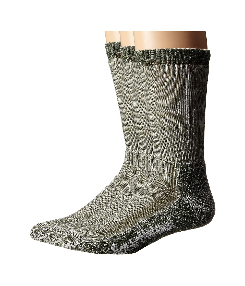 Smartwool - Trekking Heavy Crew 3-Pack (Loden) Crew Cut Socks Shoes
