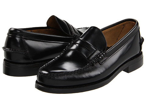 Sebago Classic (Black) Men's Shoes