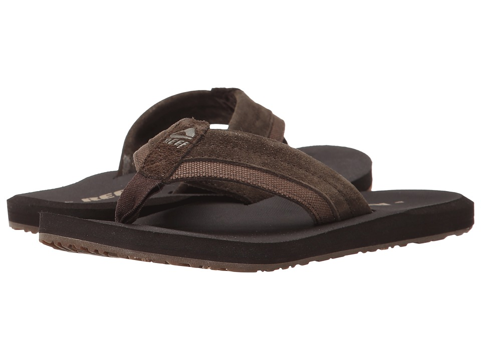 Reef - Stuyak (Dark Brown) Men's Sandals