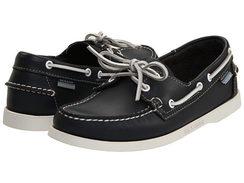 Sebago - Docksides (Navy) Men's Lace up casual Shoes