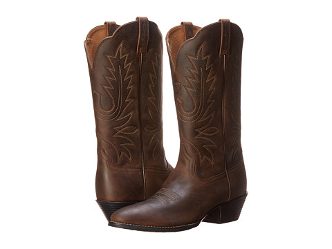 62d632b9afb UPC 751702411389 - Ariat Heritage Western R Toe (Distressed Brown ...