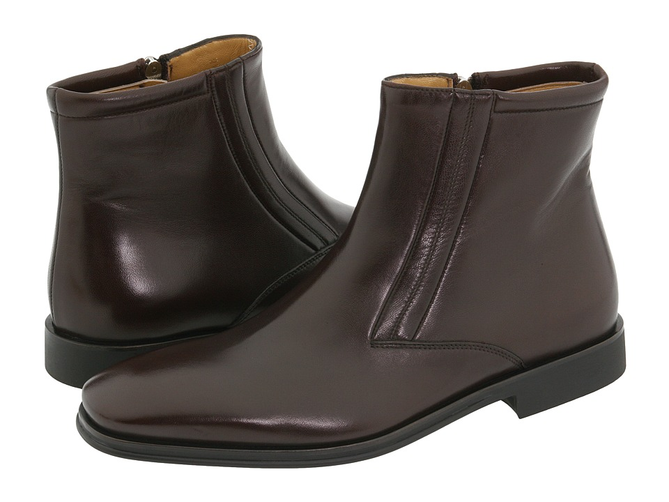 Bruno Magli Raspino (Dark Brown Nappa) Men