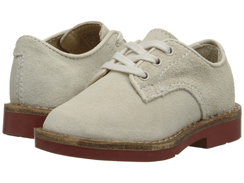 Polo Ralph Lauren Kids - Barton Oxford (Infant/Toddler) (White Suede) Boys Shoes