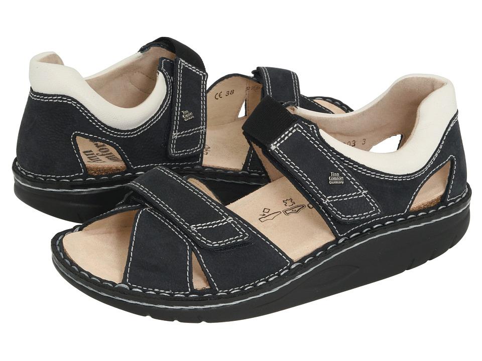 Finn Comfort - Samara - 1560 (Navy/Jasmin) Sandals