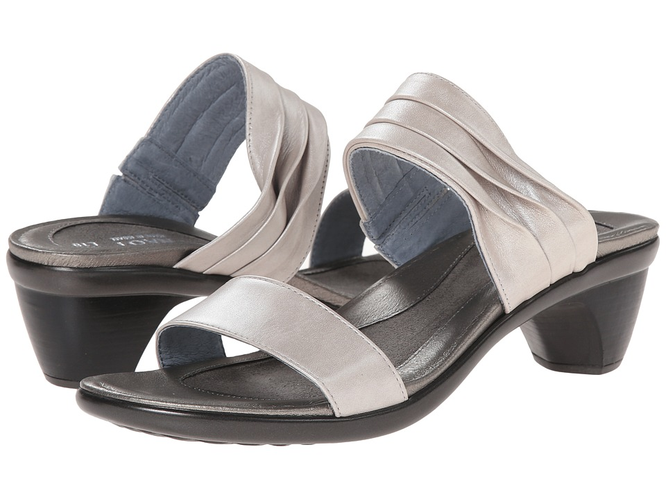 Naot Footwear - Isis (Quartz Leather) Women's Slide Shoes