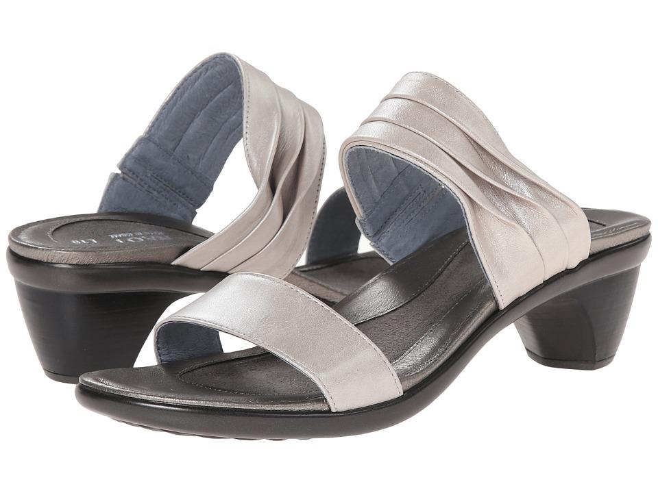 Naot Footwear - Isis (Quartz Leather) Women's Slide Shoes