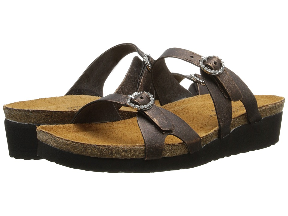 Naot Footwear - Kate (Burnt Copper Leather) Women's Sandals