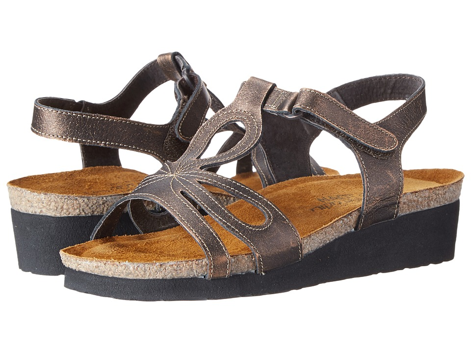 Naot Footwear - Rachel (Burnt Copper Leather) Women's Sandals