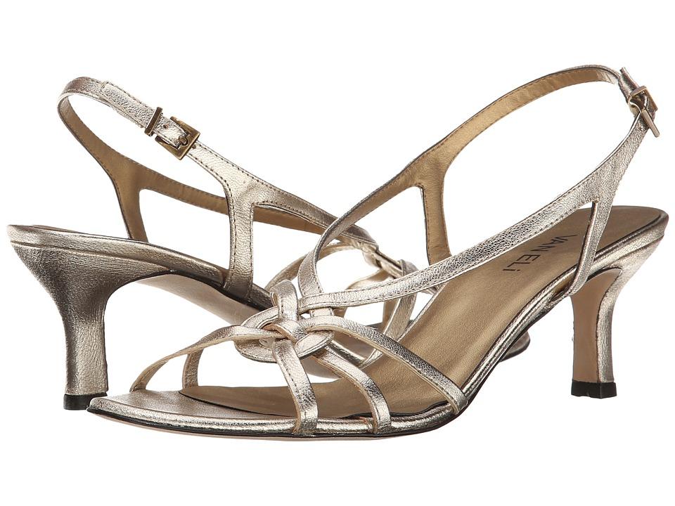 Vaneli - Modesta (Platino Metallic Nappa) Women's Dress Sandals