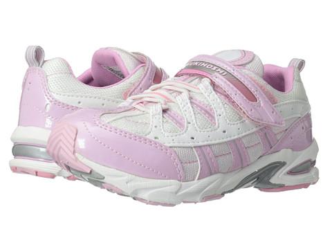 Tsukihoshi Kids - Speed (Little Kid/Big Kid) (Pink/White) Girls Shoes