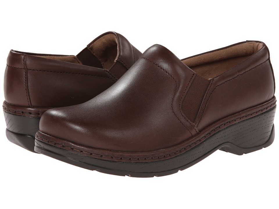 Klogs Footwear - Naples (Coffee Smooth Leather) Women's Clog Shoes