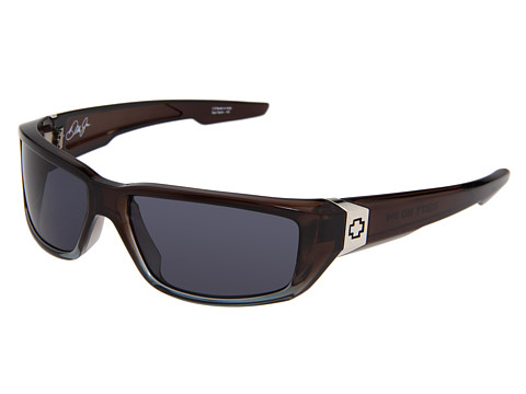 Spy Optic - Dirty Mo (Grey Crystal/Fade Grey Lens) Sport Sunglasses