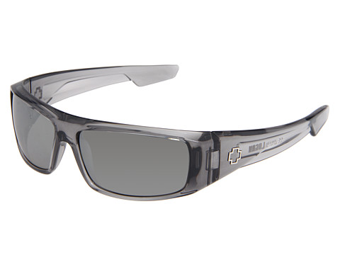 Spy Optic - Logan (Clear Smoke/Grey Silver Mirror Lens) Sport Sunglasses