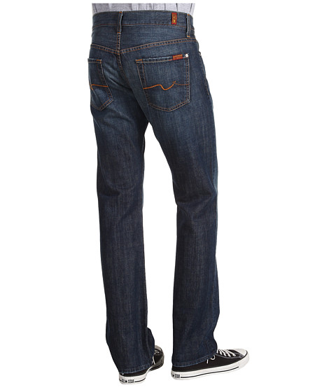 7 For All Mankind - Standard Straight Leg in New York Dark (New York Dark) Men