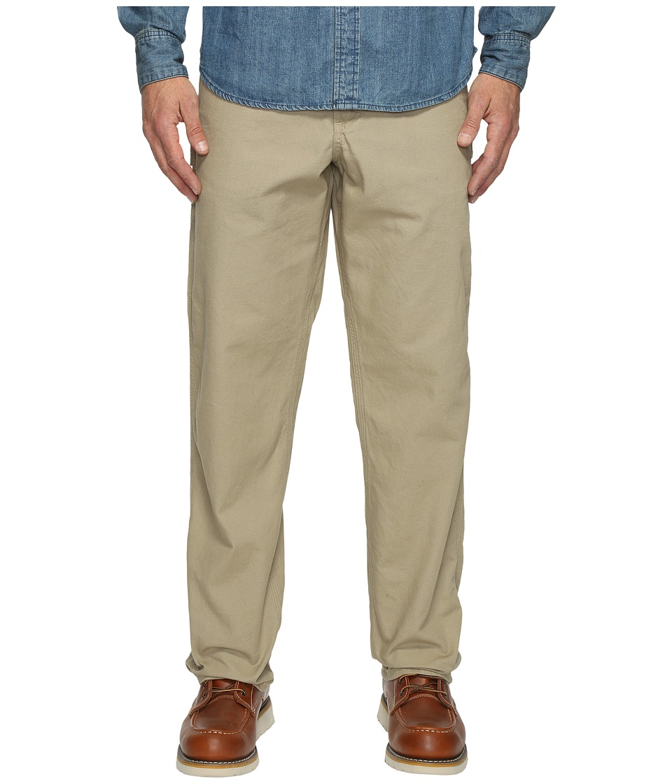 Carhartt - Loose Fit Canvas Carpenter Jean (Golden Khaki) Men's Casual Pants