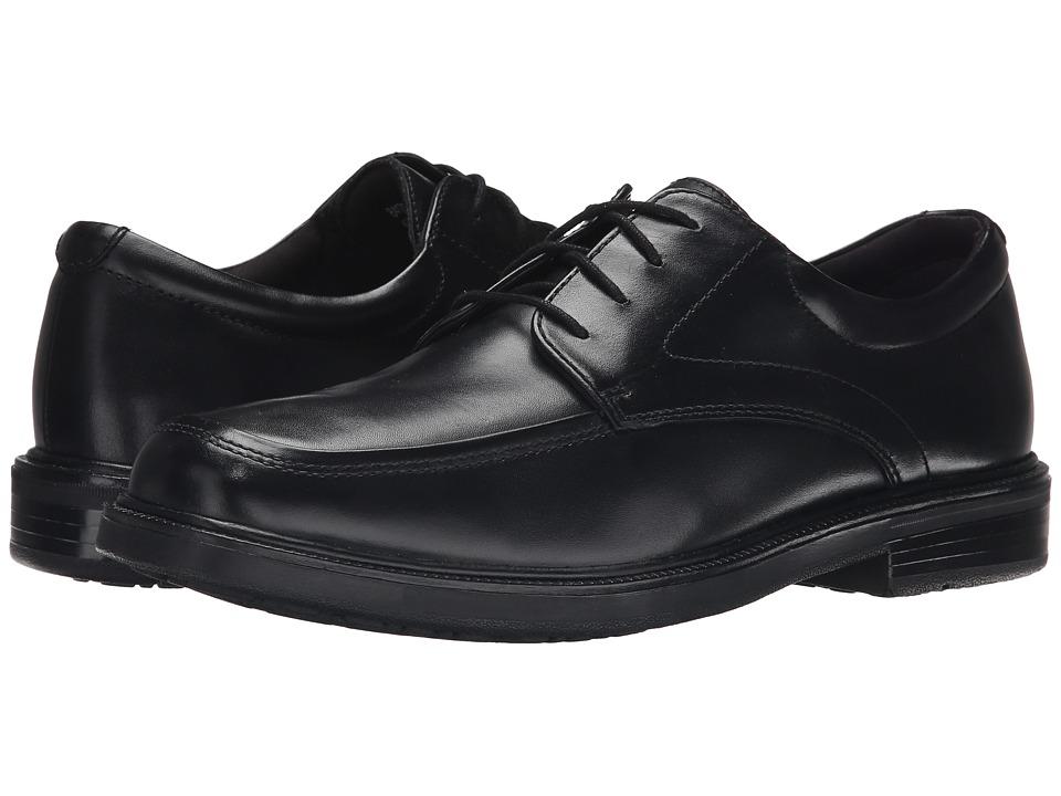 Nunn Bush - Emory (Black Smooth Leather) Men