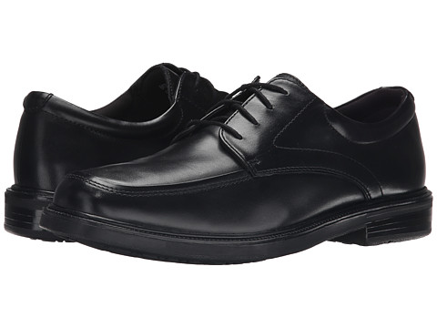 Nunn Bush - Emory (Black Smooth Leather) Men