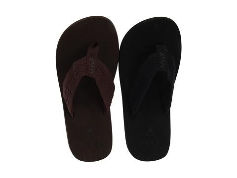 Reef - Sandy 2-Pair Variety Pack (Black/Black & Brown/Brown) Women's Shoes