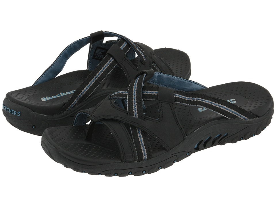 SKECHERS - Reggae - Soundstage (Black) Women's Sandals