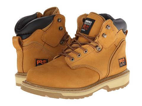 "Timberland Pro TB033031231 6/"" Pit Boss Nubuck Leather Steel Toe Work Boots~"