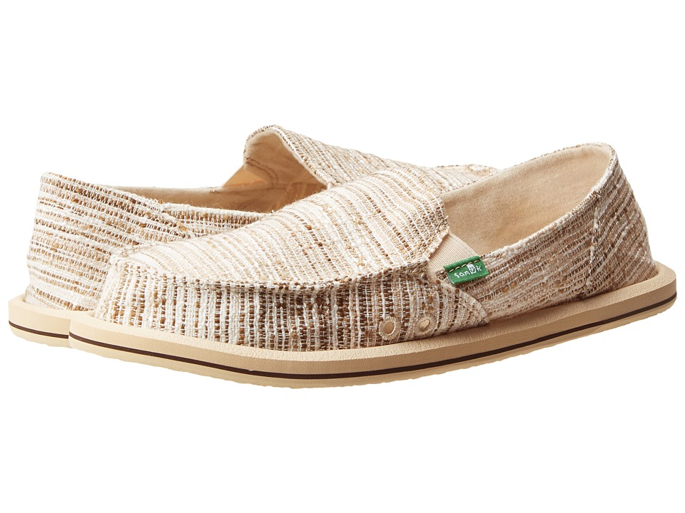 Sanuk - Laurel (Beige) Women's Slip on Shoes