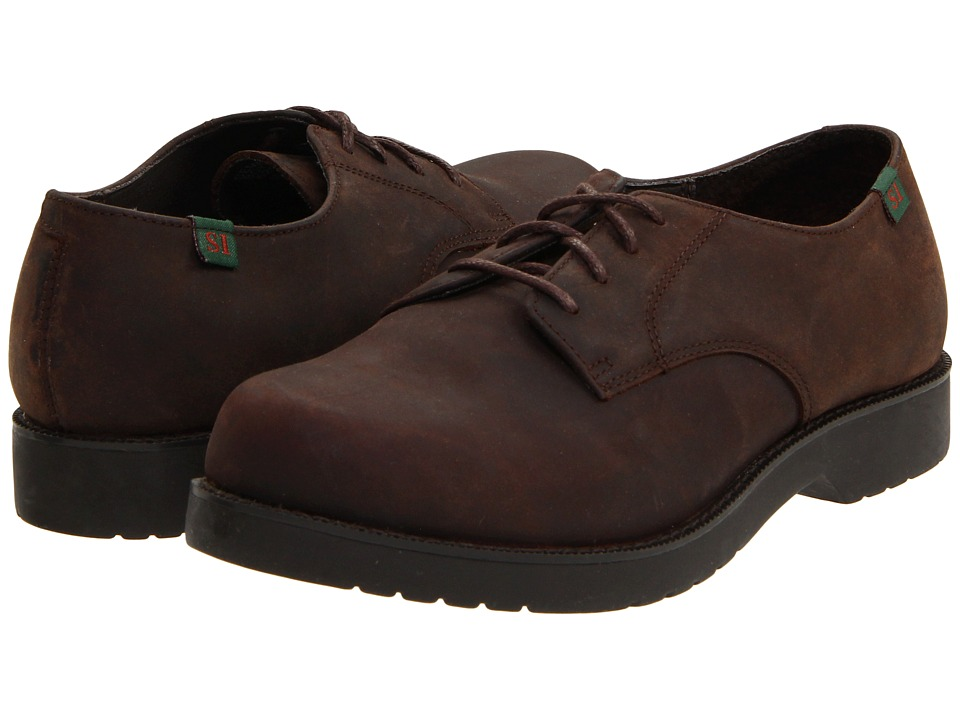 School Issue - Semester (Toddler/Little Kid/Big Kid) (Chocolate Nubuck) Boys Shoes