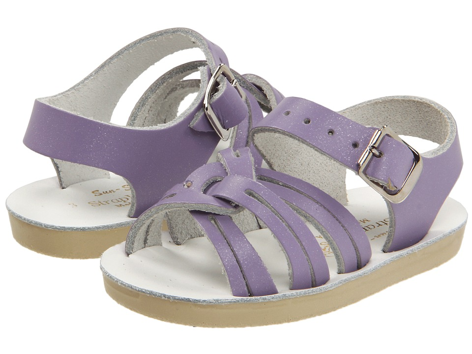 Salt Water Sandal by Hoy Shoes - Sun-San - Strap Wees (Infant/Toddler) (Lilac) Girls Shoes